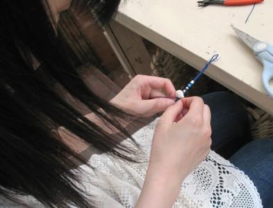 編んでいきます。