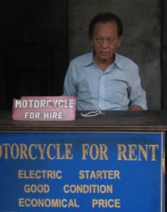 バイク屋のオヤジ